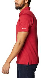 Columbia Men's Oklahoma Sooners Crimson Tech Trail Polo product image
