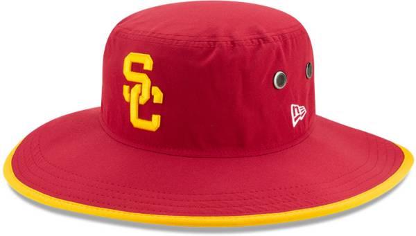 New Era Men's USC Trojans Cardinal Basic Bucket Hat product image