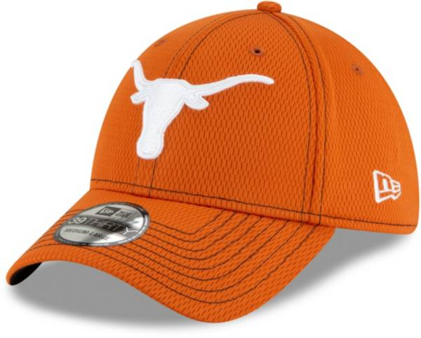 New Era Men's Texas Longhorns Burnt Orange Road 3930 Flexfit Hat product image