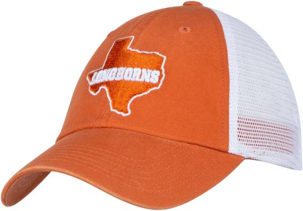 University of Texas Authentic Apparel Men's Texas Longhorns Burnt Orange State Proud Adjustable Trucker Hat product image