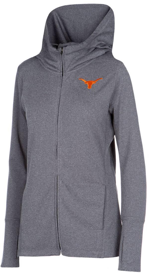 University of Texas Authentic Apparel Women's Texas Longhorns Grey Marie Full-Zip Hoodie product image
