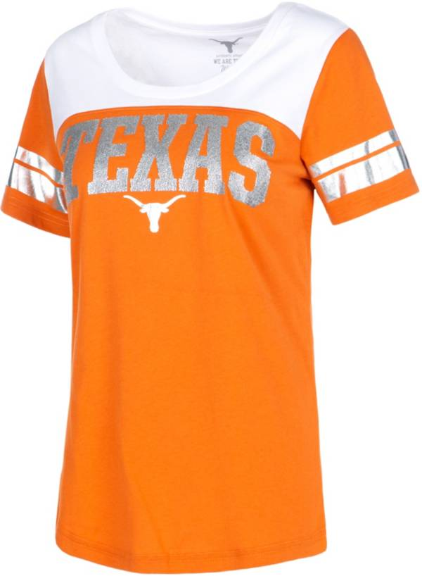 University of Texas Authentic Apparel Women's Texas Longhorns Burnt Orange Candice T-Shirt product image
