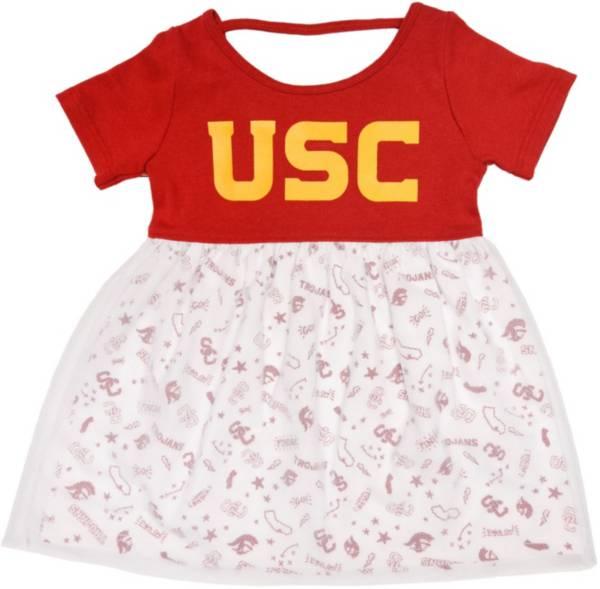 USC Authentic Apparel Infant USC Trojans Cardinal Magdalene Dress product image