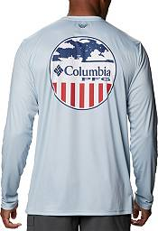 Columbia PFG Men's Terminal Tackle Patriot Long Sleeve Shirt product image