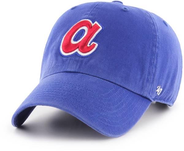 '47 Men's Atlanta Braves Clean Up Adjustable Hat product image