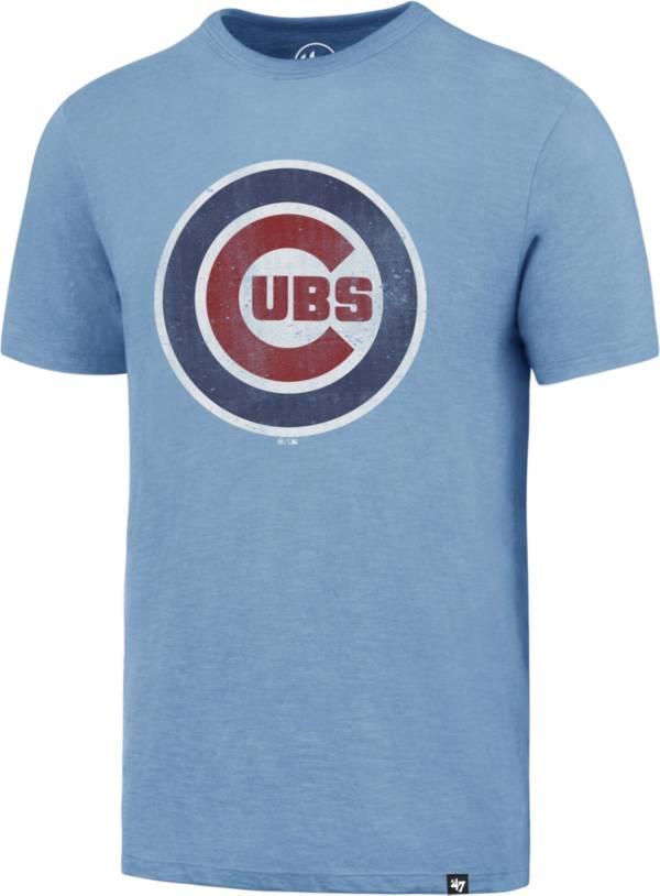 '47 Men's Chicago Cubs Blue Scrum T-Shirt product image