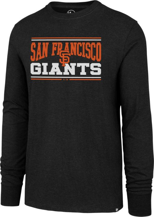 size 40 b8d6f 22b5e '47 Men's San Francisco Giants Club Long Sleeve Shirt