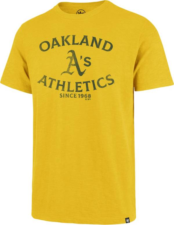 '47 Men's Oakland Athletics Gold Scrum T-Shirt product image