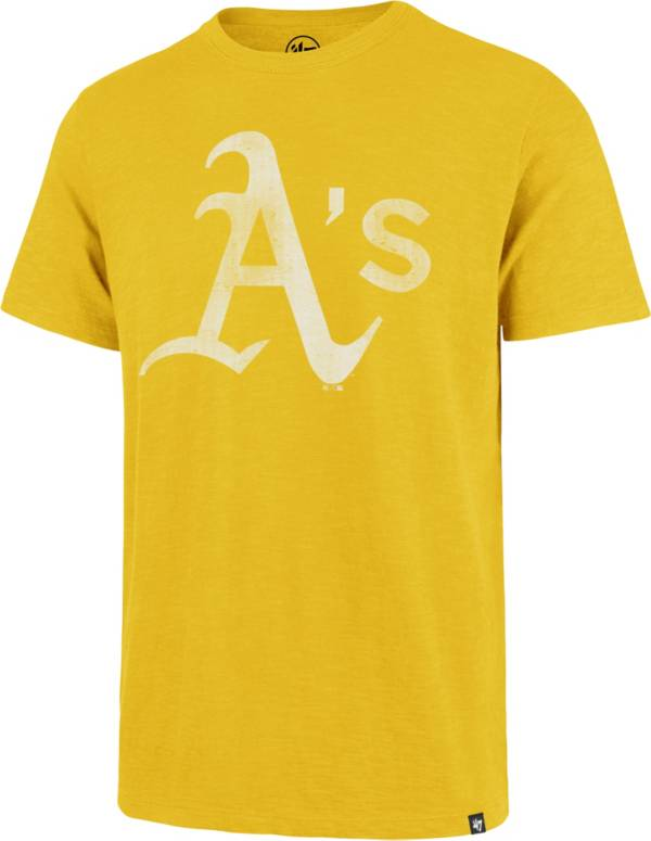 '47 Men's Oakland Athletics Gold Scrum T-Shirt product image