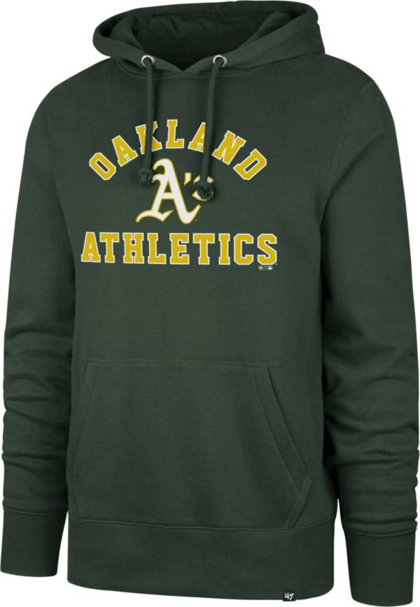 '47 Men's Oakland Athletics Green Headline Pullover Hoodie product image