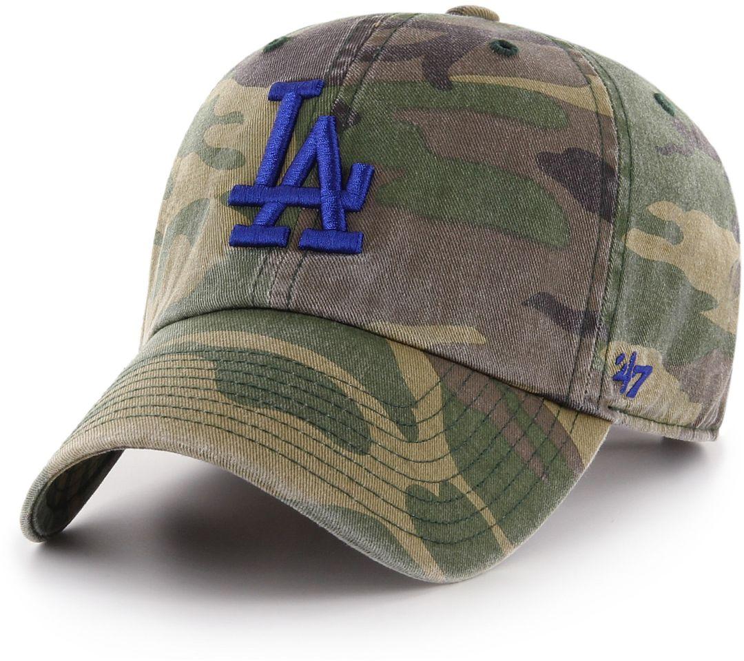 6d14769c '47 Men's Los Angeles Dodgers Camo Clean Up Adjustable Hat. noImageFound.  Previous