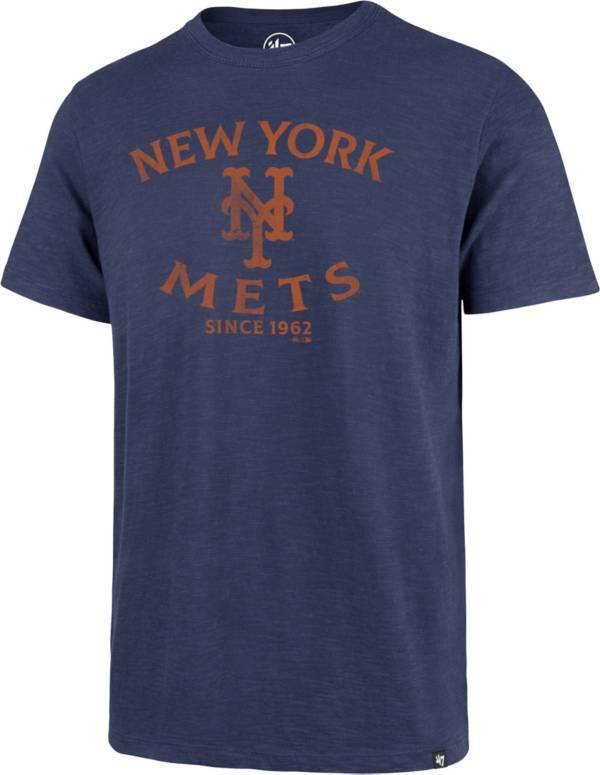 '47 Men's New York Mets Blue Scrum T-Shirt product image