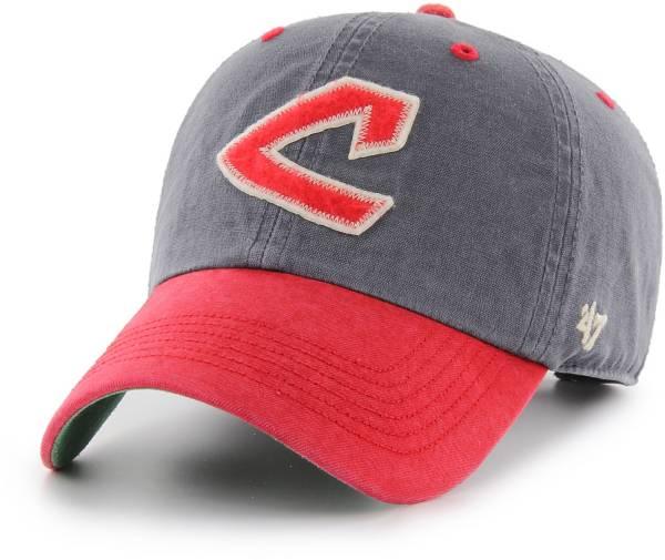 '47 Men's Cleveland Indians Navy Prewett Clean Up Adjustable Hat product image