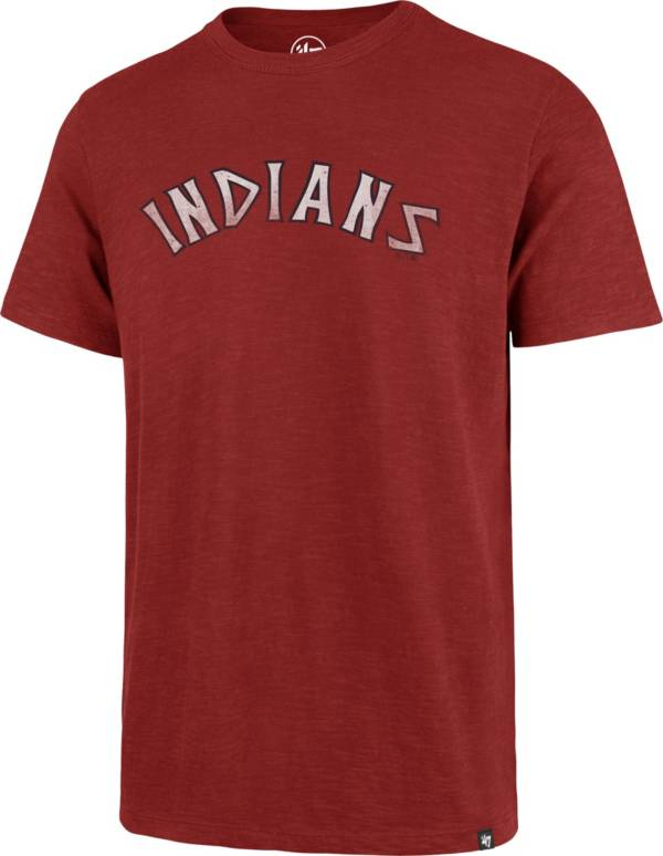 '47 Men's Cleveland Indians Red Scrum T-Shirt product image