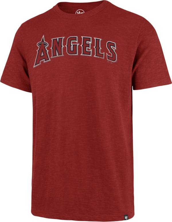 '47 Men's Los Angeles Angels Red Scrum T-Shirt product image