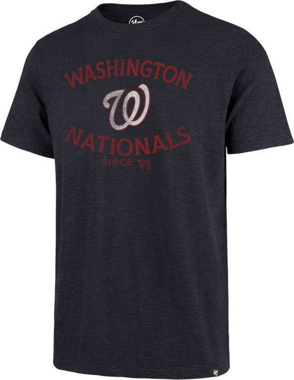 '47 Men's Washington Nationals Navy Scrum T-Shirt product image