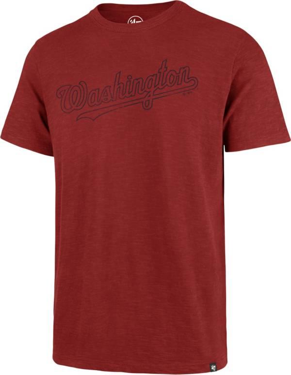 '47 Men's Washington Nationals Red Scrum T-Shirt product image