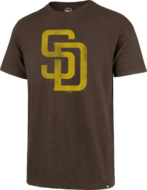 '47 Men's San Diego Padres Brown Scrum T-Shirt product image