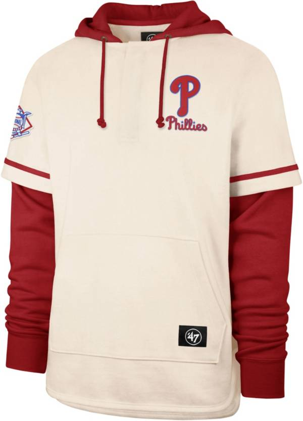 '47 Men's Philadelphia Phillies Red Shortstop Pullover Hoodie product image