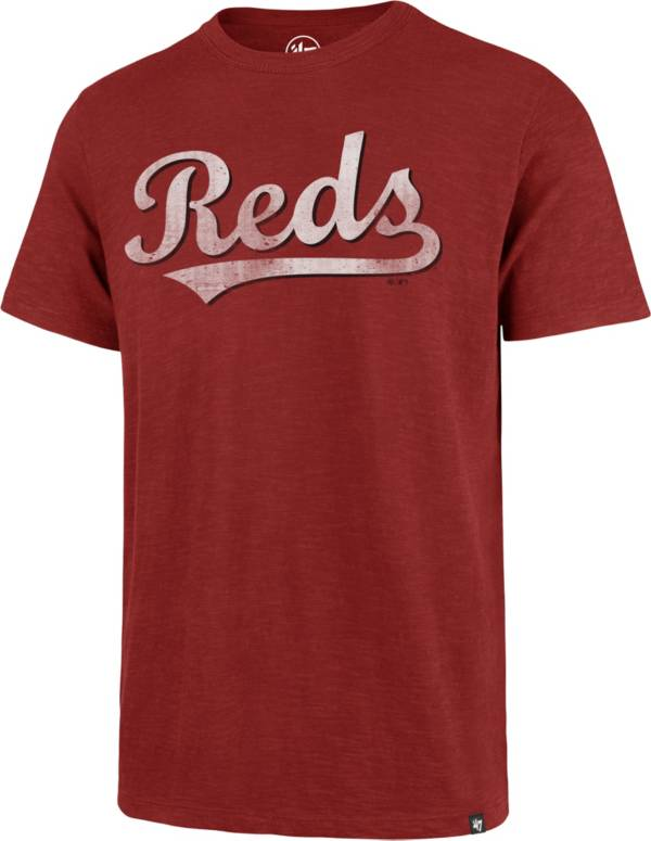 '47 Men's Cincinnati Reds Red Scrum T-Shirt product image