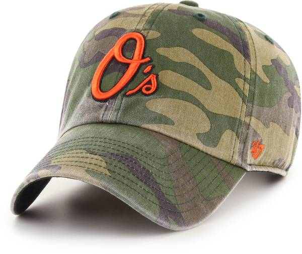 '47 Men's Baltimore Orioles Camo Clean Up Adjustable Hat product image