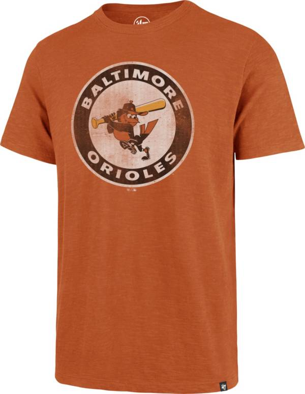 '47 Men's Baltimore Orioles Orange Scrum T-Shirt product image