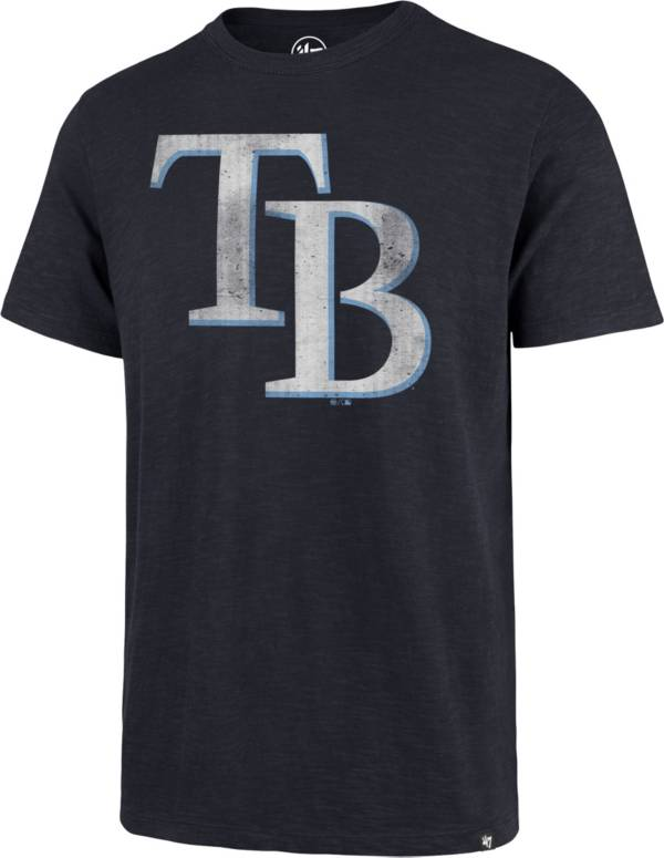 '47 Men's Tampa Bay Rays Navy Scrum T-Shirt product image