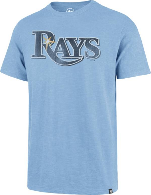 '47 Men's Tampa Bay Rays Blue Scrum T-Shirt product image
