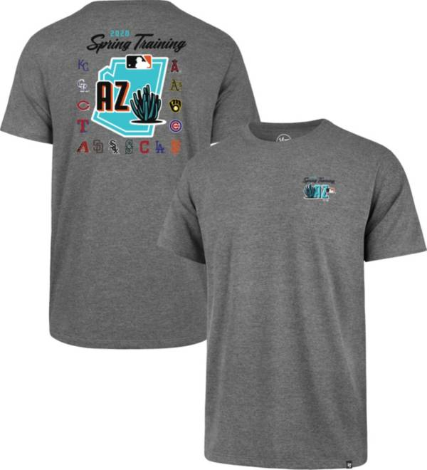 '47 Men's Grey 2020 Spring Training Cactus League T-Shirt product image