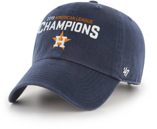 '47 Men's 2019 American League Champions Houston Astros Clean Up Adjustable Hat product image