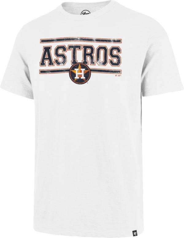 '47 Men's Houston Astros White Scrum T-Shirt product image