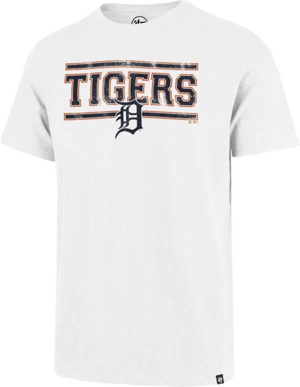 '47 Men's Detroit Tigers White Scrum T-Shirt product image