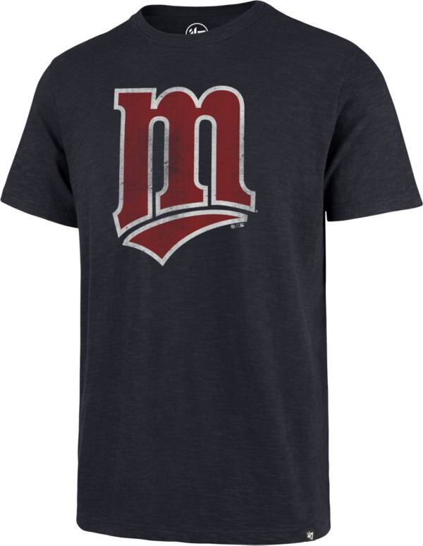 '47 Men's Minnesota Twins Navy Scrum T-Shirt product image