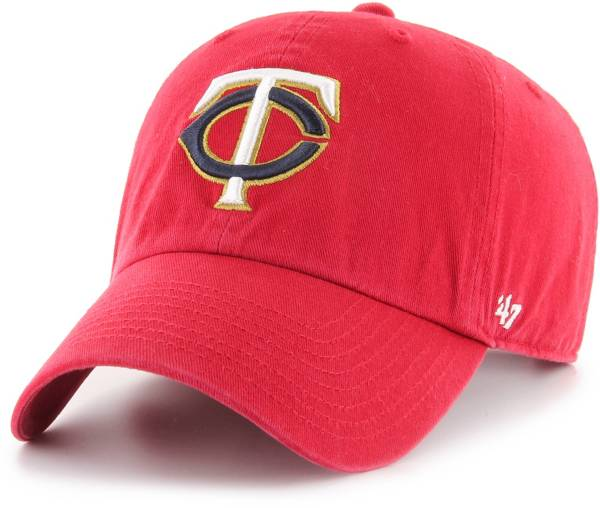 '47 Men's Minnesota Twins Clean Up Adjustable Hat product image