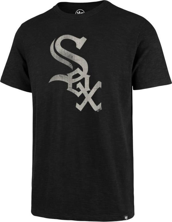 '47 Men's Chicago White Sox Black Scrum T-Shirt product image