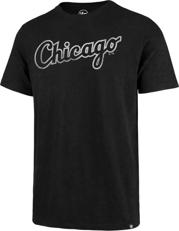 '47 Men's Chicago White Sox Black Scrum T-Shirt product image