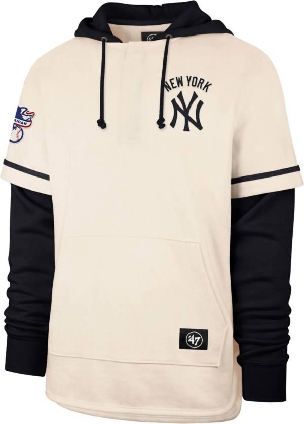 '47 Men's New York Yankees Blue Shortstop Pullover Hoodie product image