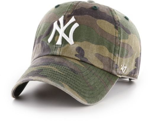 27818563a4c ... New York Yankees Camo Clean Up Adjustable Hat. noImageFound. Previous