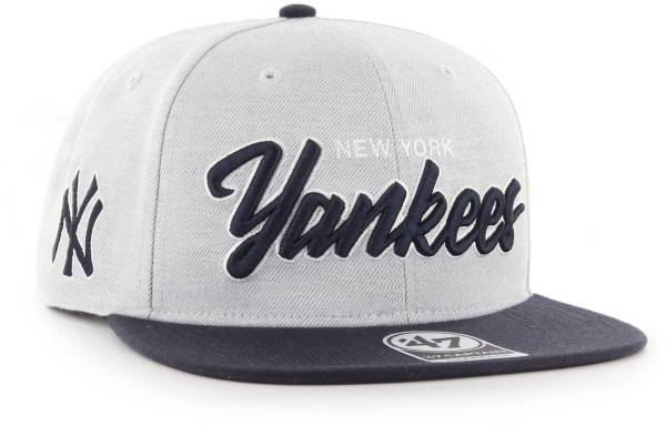 '47 Men's New York Yankees Street Script Captain Adjustable Snapback Hat product image