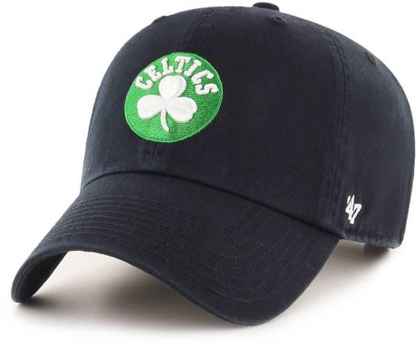 '47 Men's Boston Celtics Clean Up Adjustable Hat product image