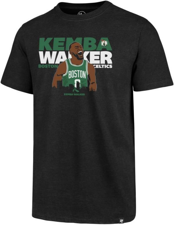 '47 Men's Boston Celtics Kemba Walker Black T-Shirt product image