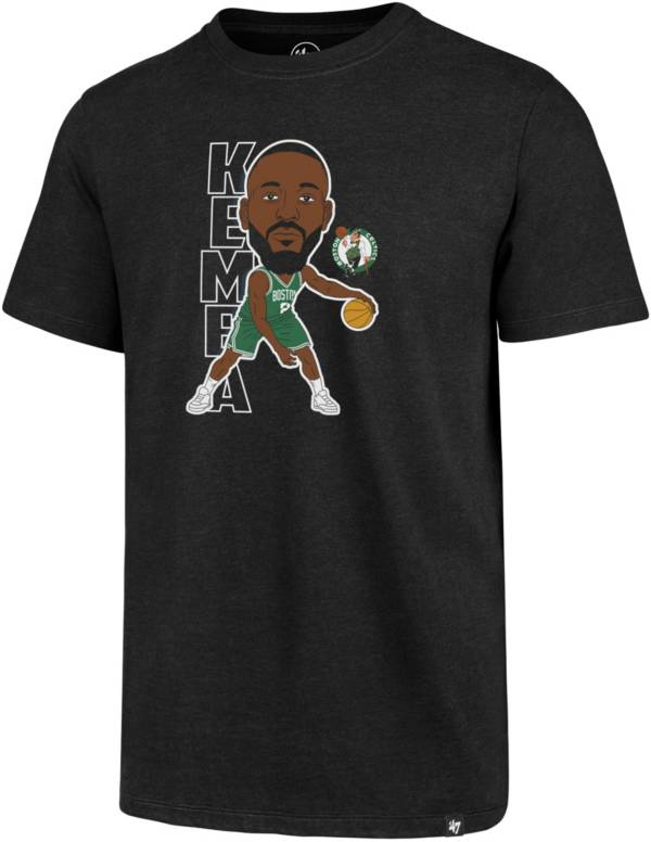 '47 Men's Boston Celtics Kemba Walker Black T-Shirt product image