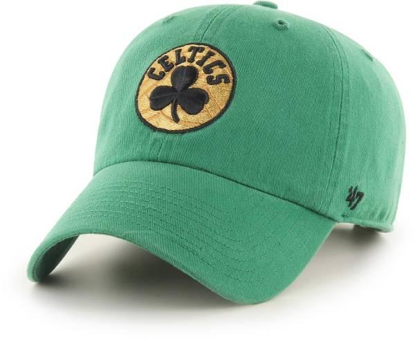 '47 Men's Boston Celtics City Edition Clean Up Adjustable Hat product image