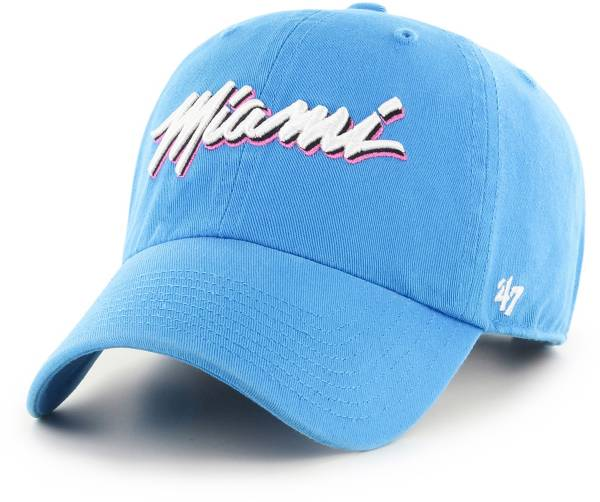'47 Men's Miami Heat City Edition Clean Up Adjustable Hat product image