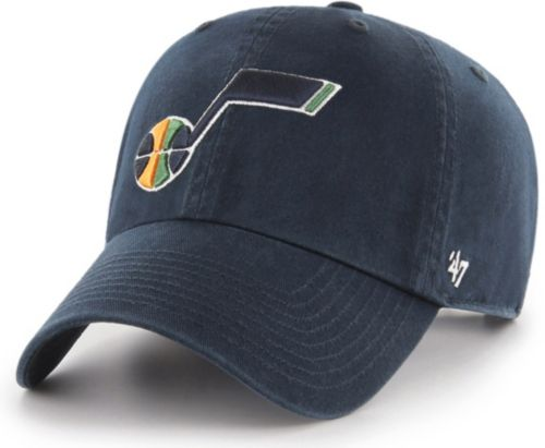 ccdd45fe8fff2  47 Men s Utah Jazz Navy Clean Up Adjustable Hat. noImageFound. Previous