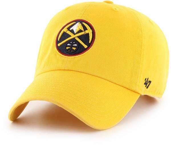 '47 Men's Denver Nuggets Clean Up Adjustable Hat product image