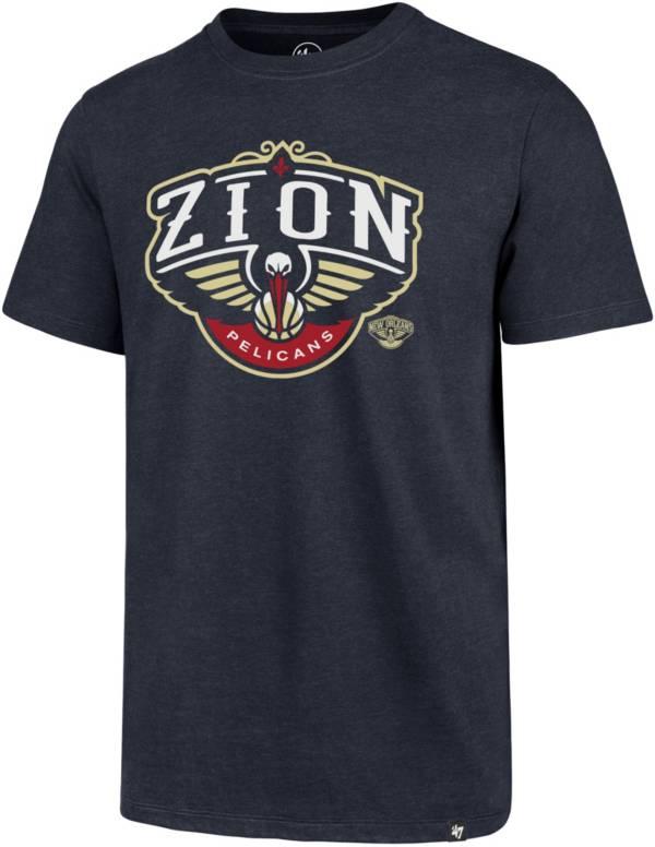 '47 Men's New Orleans Pelicans Zion Williamson Navy T-Shirt product image