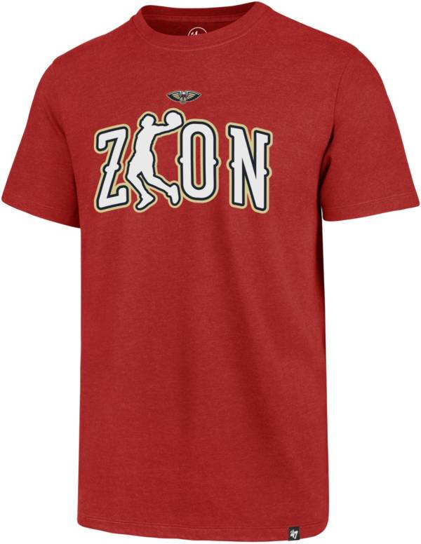 '47 Men's New Orleans Pelicans Zion Williamson Red T-Shirt product image