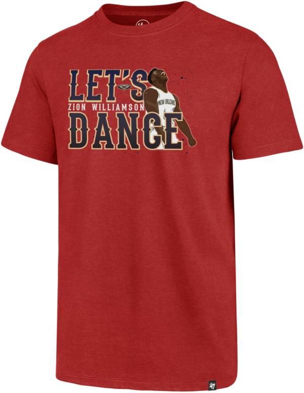 "'47 Men's New Orleans Pelicans Zion Williamson ""Let's Dance"" Red T-Shirt product image"
