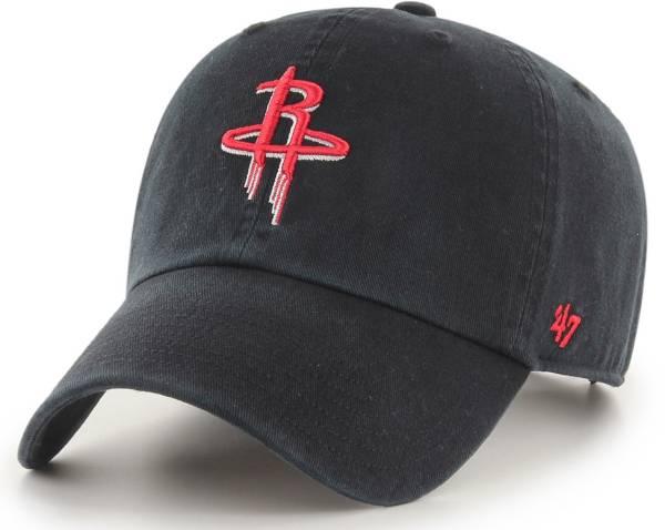 '47 Men's Houston Rockets Clean Up Adjustable Hat product image